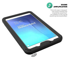 TurtleSkin Shockproof Protective Silicone Case for Samsung Galaxy Tab E 8.0