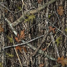 BIN Fabric Tree Bark True Timber Real Look Camo on Cotton by the 1/4 yard