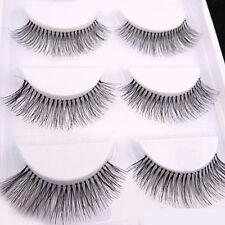 5 Pairs Women Long Sparse Cross Eye Lashes Extension Makeup False Eyelashes