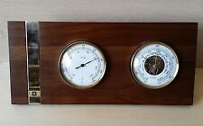 Jostens Barometer And Thermometer Wood Set MCI