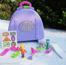 Mini Polly Pocket unopend Koffer Snow Mountain NEU OVP NEW MOC 100% Komplett