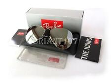 New Sunglasses Ray-Ban RB3026 Aviator 003 Silver Mirror 62mm+Gift bag
