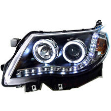 LED Headlights for Subaru Forester 2008-2012 LED Angel Eyes Front Lamps T