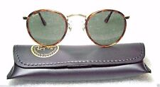 "RAY-BAN *NOS VINTAGE B&L *TORTUGA ""Lennon Style"" W1675 Classic Metals SUNGLASSES"