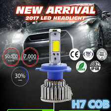 Super Bright 120W H7 20000LM CREE COB LED Headlight 12V Car Conversion Bulbs Kit