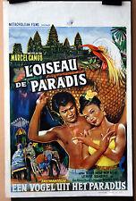Marcel Camus : L' Oiseau De Paradis : POSTER