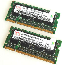 Hynix 4GB 2X2GB DDR2 667mhz PC2-5300 Sodimm Laptop Notebook Speicher Ram 16chips