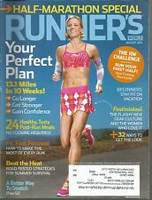 Runner's World August 2011 Post Run Meals/Fit Fast Focused/Beat The Heat