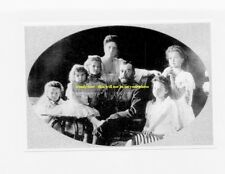 mm368 - Czar Nicholas II Romanov & family in 1906 - Russia - Royalty photo 6x4""