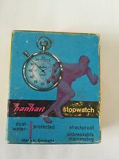 Hanhart Pic 1 Jewel Shockproof Antique Stopwatch. Made In Germany BNIB. 1/5 Sec