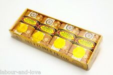 Real Sandalwood Soap * Bee and Flower * Classic * Large 125g X 4 Bars Box Set
