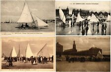 SPORT LAND SAILING SAND YACHTING AEROPLAYE ALL FRANCAISE 15 CPA pre -1940