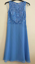 Ariella Of London Womens Sequin Lace Party Dress RRP £89 BNWT Size 8 Baby Blue