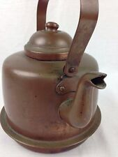 Vintage Epila Tampere Solid Copper Tea Kettle Tin Lined 2 Liter Made in Finland
