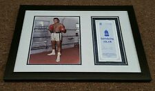 """"""" Muhammad Ali """" / Autographed Religious Pamphlet with 8""""x10"""" still. MINT"""