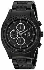 Armani Exchange Men's AX1605 'Active' Chronograph Black Stainless steel Watch