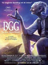 Affiche 40x60cm Le BGG …Bon Gros Géant (The BFG) 2016 Steven Spielberg BE