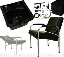 ABS Polymer Shampoo Bowl Chair Vacuum Breaker Barber Spa Beauty Salon Equipment