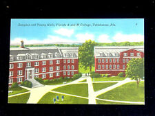 c.1940 Sampson & Young Halls Florida A&M College Tallahassee FL post card