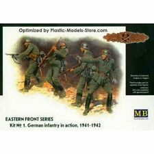FRONTIER FIGHT GERMAN INFANTRY 1/35 MASTER BOX 3522  DE