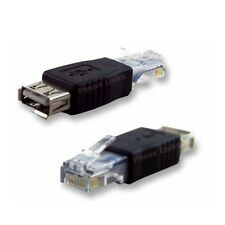 PC USB A rj45 Femmina a A Ethernet Internet rj45 Connettore Adattatore Adattatore