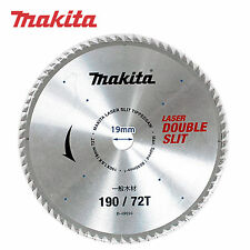 Makita B-49694 7-1/2 inch 190mm Tooth 72T Laser Slit Tipped Circular Saw Blade