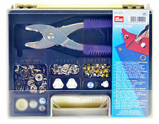 Prym Vario Plus Assortment Kit - Contains Pliers Tools Press Fasteners Eyelets