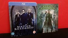 THE MATRIX RELOADED - Embossed BLURAY Steelbook & 3D Lenticular Magnet Cover