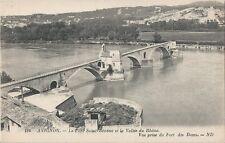 Postcard France Avignon Le Pont St-Benezet et la Valtee du Rhone MINT c1907-15