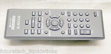 * GENUINE * SONY RMT-D195 PORTABLE DVD REMOTE CONTROL (BLACK)