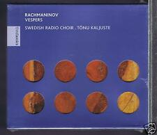 RACHMANINOV CD NEW VESPERS / SWEDISH RADIO CHOIR TONU KALJUSTE