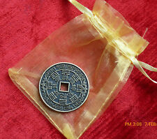 LUCKY CHINESE COIN MONEY LUCK CHINESE NEW YEAR FENG SHUI (PRICE FOR 1 COIN)