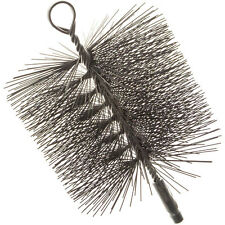 Imperial Manufacturing BR0330 Square 6X6 Premium Chimney Cleaning Brush 1/4 NPT