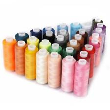 Machine Embroidery Sewing Threads Crochet Knitting Yarn Cord 30 Color 250 Yards