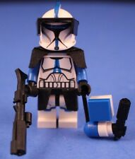 LEGO® STAR WARS™ Custom Phase 1 501st LEGION CLONE TROOPER minifigure + Blasters
