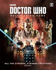 DOCTOR WHO ROLEPLAYING GAME - ALL THE STRANGE,STRANGE CREATURES - VOLUME 1
