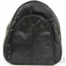 Ladies / Womens Soft Nappa Leather Rucksack / Backpack