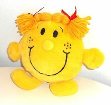 "2001 Mr Men & Little Miss by Roger Hargreaves MISS SUNSHINE 10"" Plush Toy (H4)"