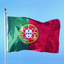 PORTUGAL FLAG PORTUGUESE FLAGS BANNER SIGN drapeau football worldcup 3*5 feet