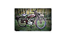 1950 james comet Bike Motorcycle A4 Photo Poster