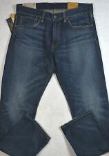 Polo Ralph Lauren Jeans Varick Slim Straight Blue Jean Size 34/34 NWT $98.50