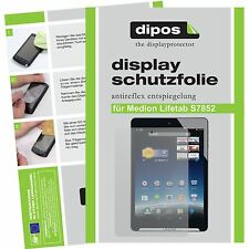 2x Medion Lifetab S7852 screen protector protection guard anti glare