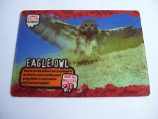 DEADLY 60 WILD ULTRA RARE ULTIMATE MOTION CARD EAGLE OWL MINT CONDITION CARD 161