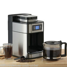 Cooks Professional Filter Coffee Machine with Grinder 24hr Timer 10 Cup Capacity