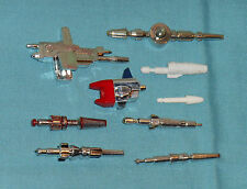original G1 Transformers WEAPONS PARTS LOT #107 Sideswipe Sunstreaker Skids