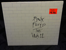 Pink Floyd THE WALL SEALED 1ST PRESS 1979 USA 2 LP SET W/ CLEAR HYPE STICKER