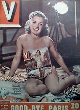V MAGAZINE N° 207 GOOD BYE PARIS REPORTAGES PIN-UP DESSINS JEAN DAVID 1948