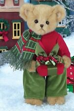 "14"" PRESTON PRESENTS*New*NWT*Bearington Bear*CHRISTMAS*Gift Box-Present*173231"