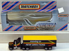 DTE AUSTRALIAN MATCHBOX CONVOY TRACTOR TRAILER TRUCK MOVING IN NEW DIRECTIONS