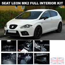 SEAT Leon Mk2 FR 1P1 05-12 FULL LED INTERNI LUCE KIT-BRIGHT WHITE XENON